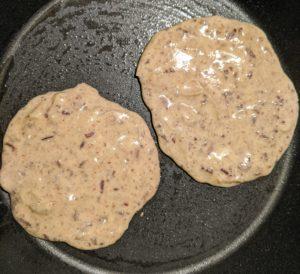 Cuocete per circa due minuti per lato